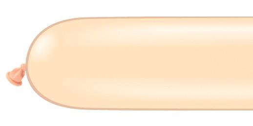 Qualatex 260Q Blush Modelling Balloons