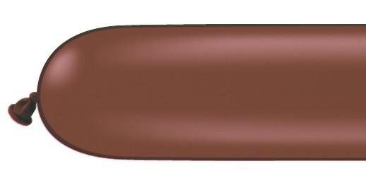 Qualatex 260Q Chocolate Brown Modelling Balloons