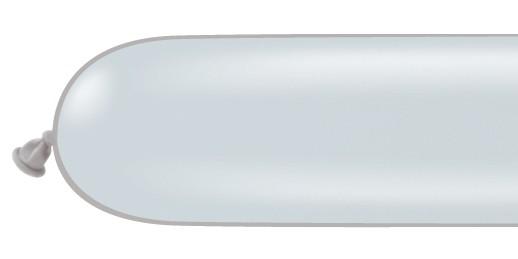 Qualatex 260Q Grey Modelling Balloons