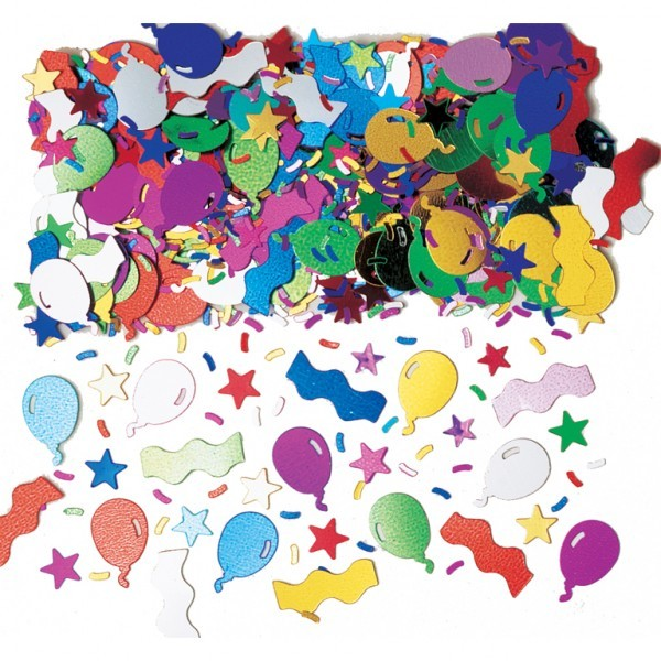 Balloon Fun Party Table Confetti