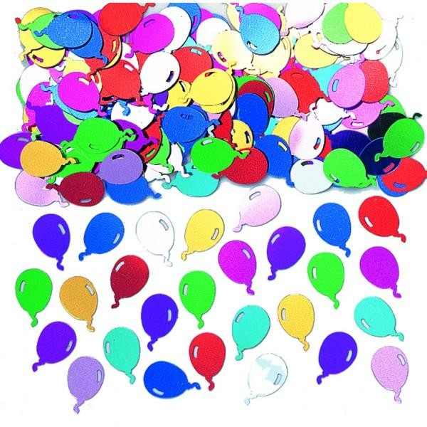 Multi-Coloured Balloons Table Confetti