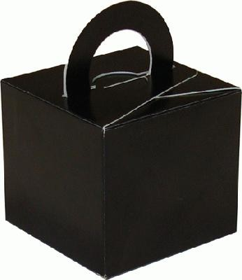 Black Balloon Weight / Favour Boxes