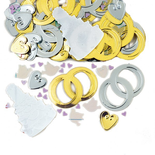 Bridal Bells Wedding Table Party Confetti