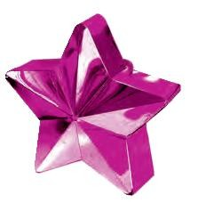 Cerise Pink Star Balloon Weight