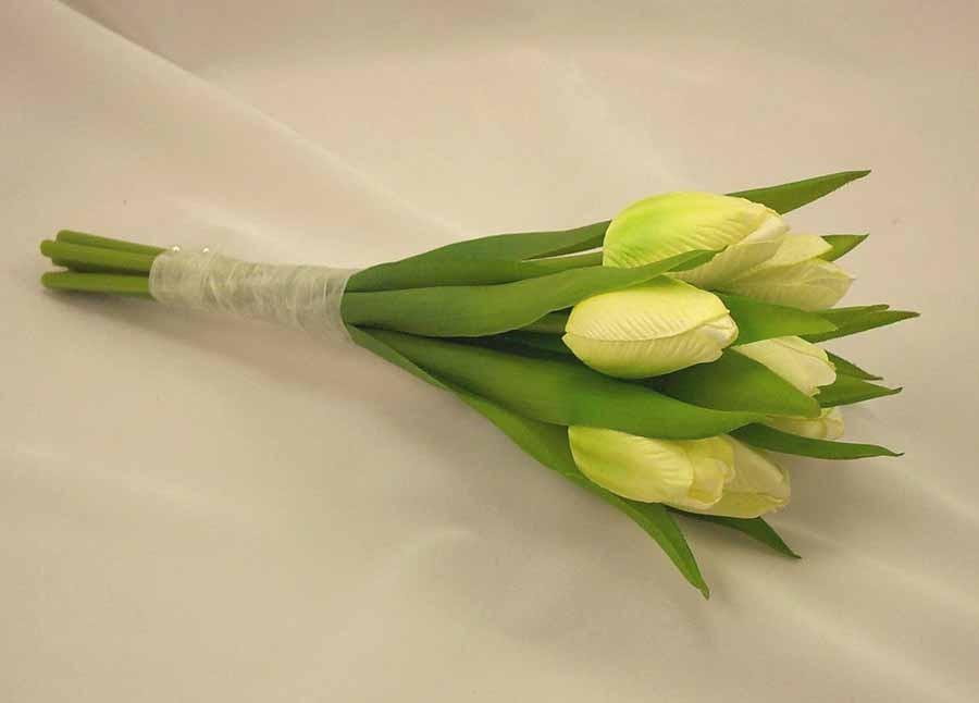 Ivory Tulip Flowergirl's Posy Bouquet