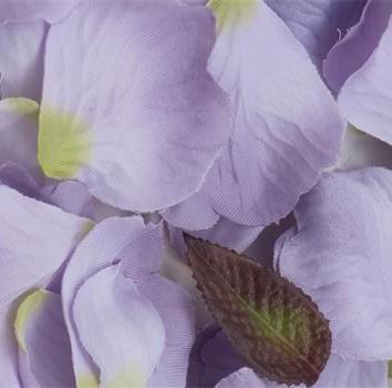 Lilac Silk Rose Petals
