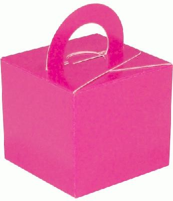 Cerise Pink Balloon Weight / Favour Boxes