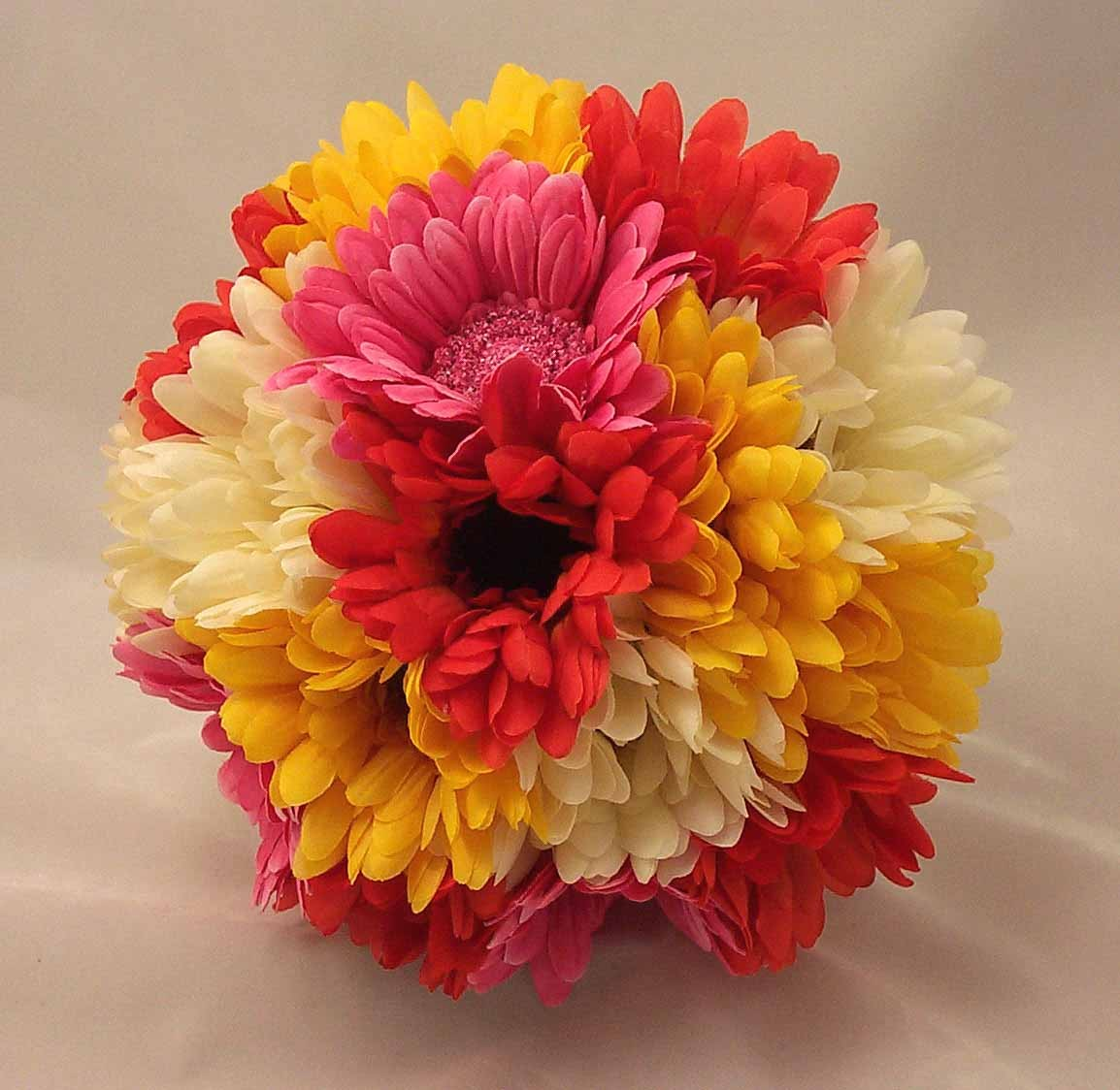 Mixed Colour Gerbera Posy Bouquet
