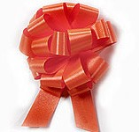 30mm Medium Orange Pull Bows