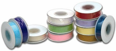 Cream Organza Ribbon 15mm