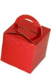 Red Balloon Weight / Favour Boxes