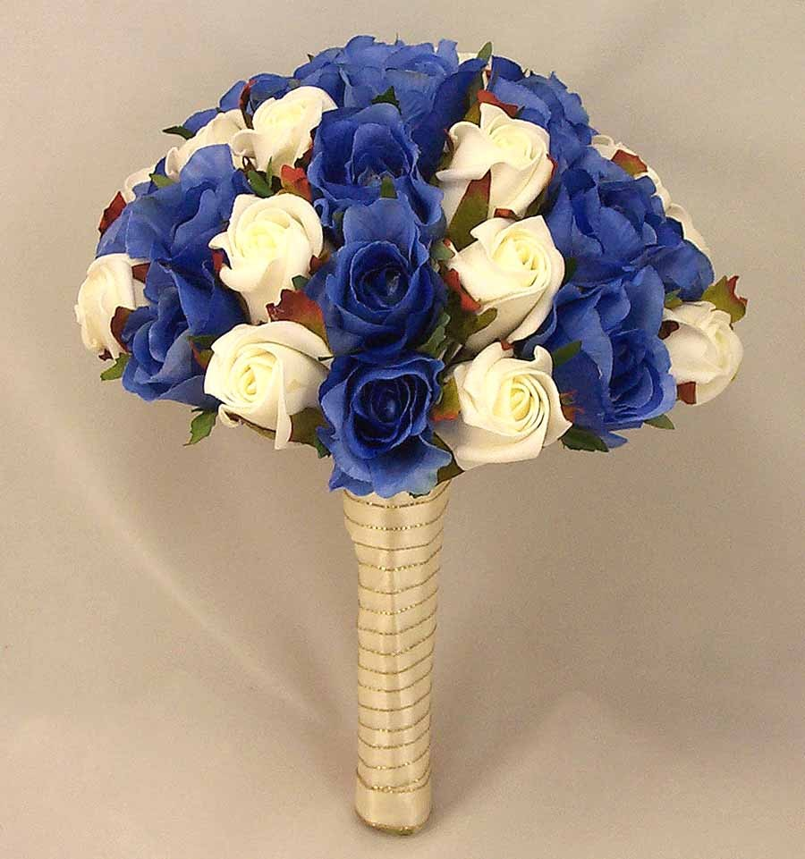 Royal Blue And Ivory Wedding Bouquets : Royal blue wedding bouquets car interior design