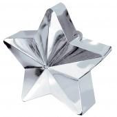 Silver Star Balloon Weight