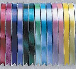 10m Length of Metallic Silver Poly Ribbon