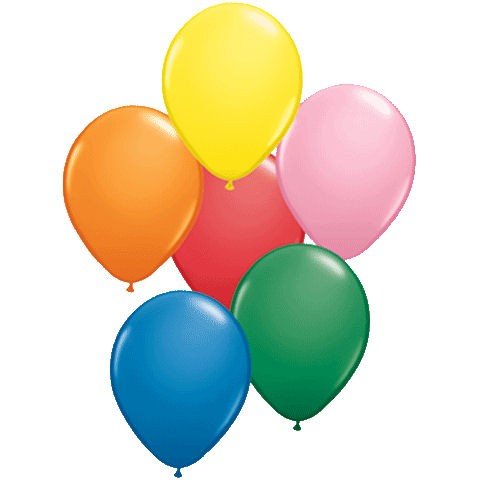 50 Assorted Latex Balloons