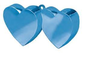 Dark Blue Double Heart Balloon Weight