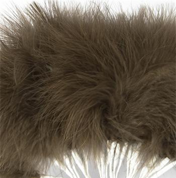 Brown Fluff Feathers