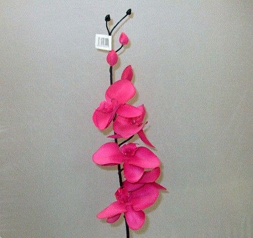 Stem of Cerise Pink Orchids