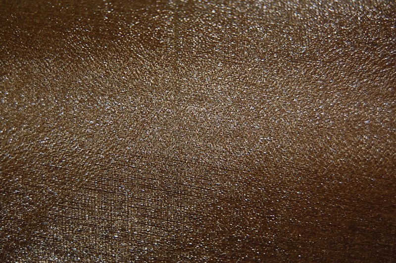 Chocolate Brown Organza Snow Sheer Roll