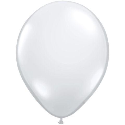 50 Clear Latex Balloons
