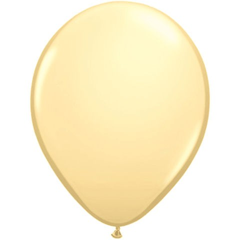 50 Cream Latex Balloons