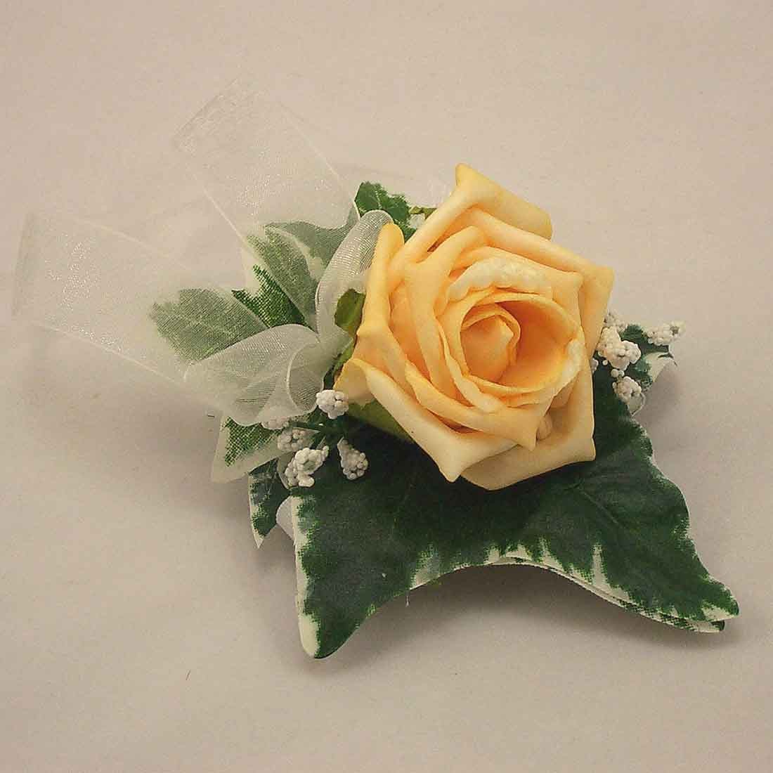 Gold Rose Lady's Wrist Corsage