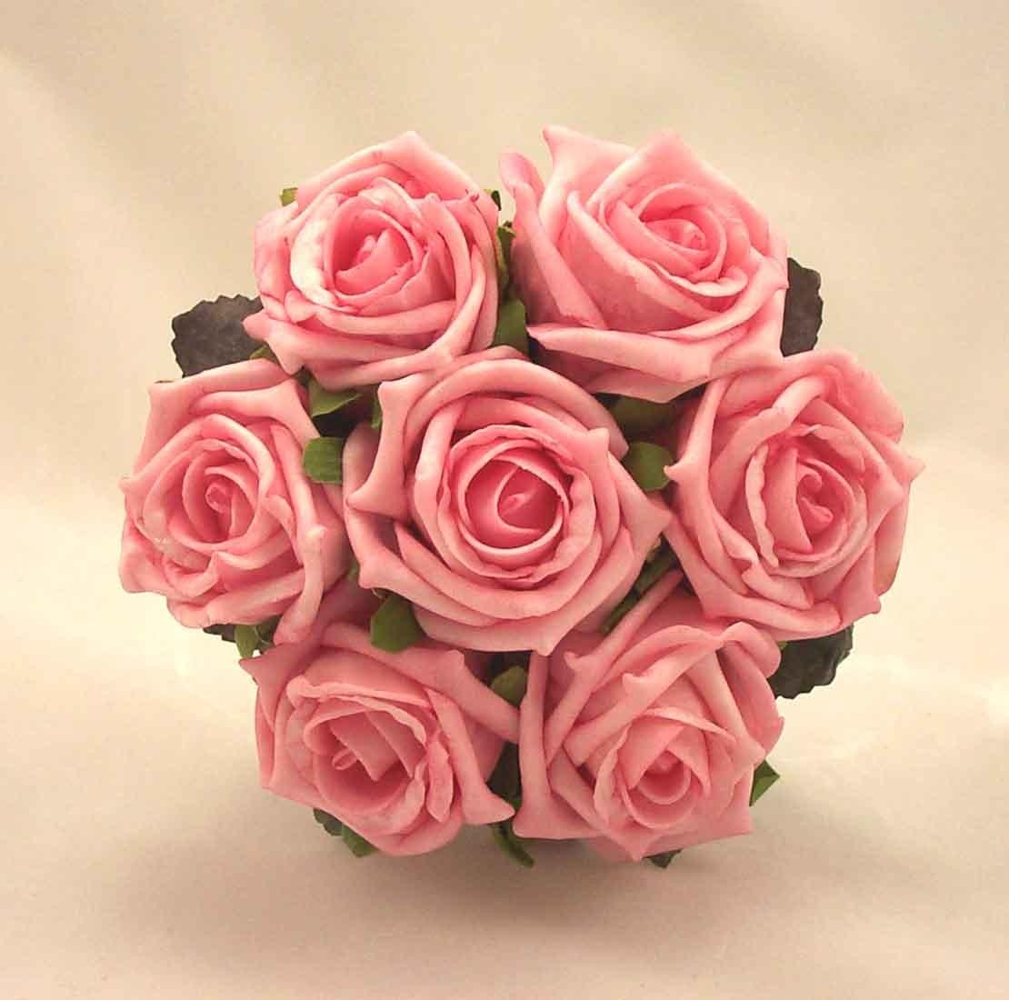 Pink Rose Children's Posy Bouquet