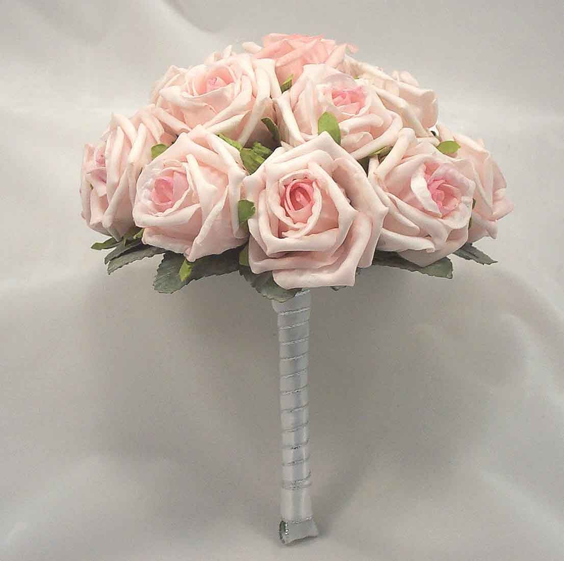Light Pink Open Rose Table Posy