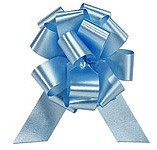 30mm Medium Light Blue Pull Bows