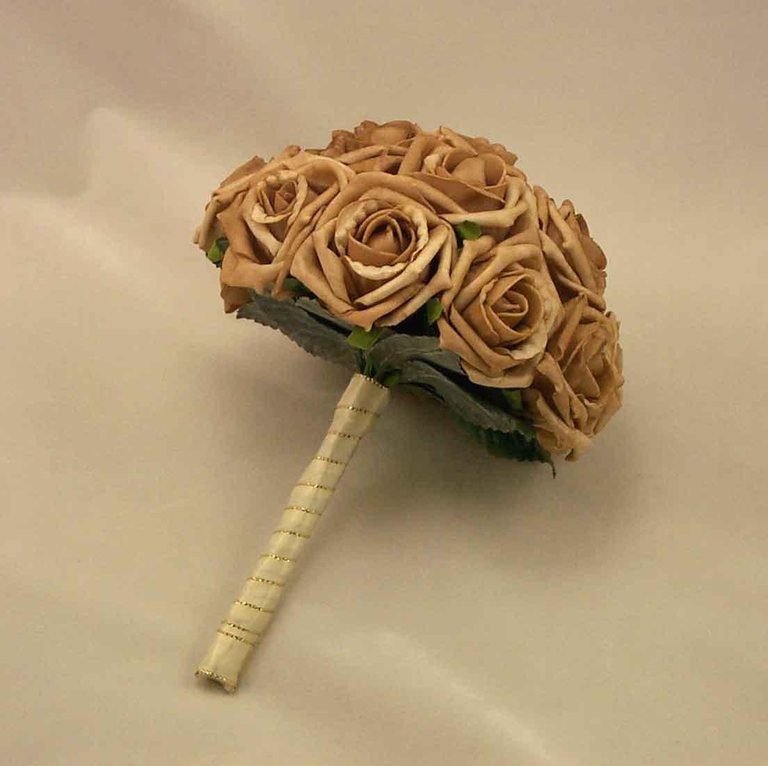 Mocha Rose Bridesmaid's Bouquet