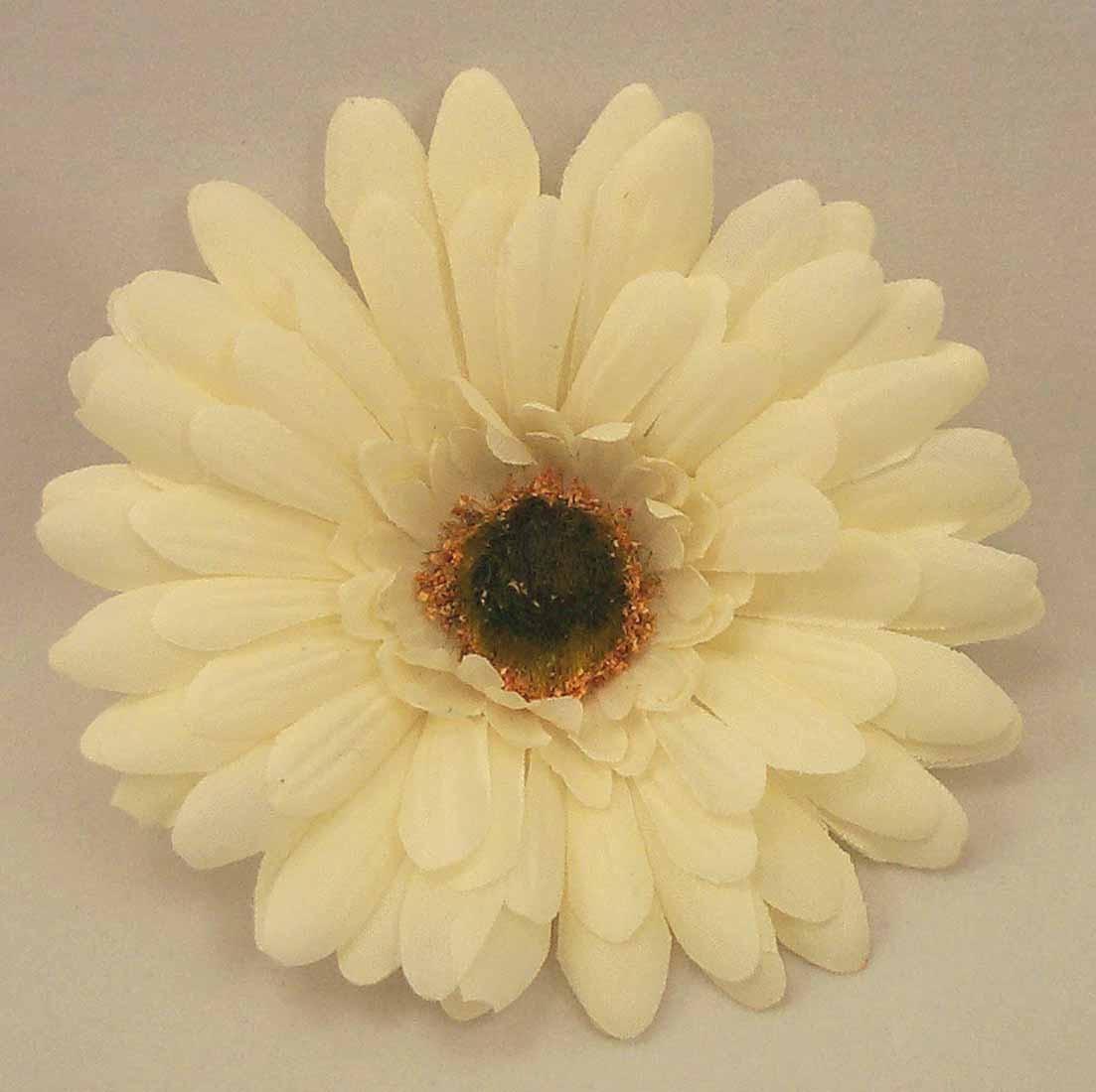 6 Silk Cream Gerbera