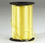 Yellow Curling Ribbon 500 Metres