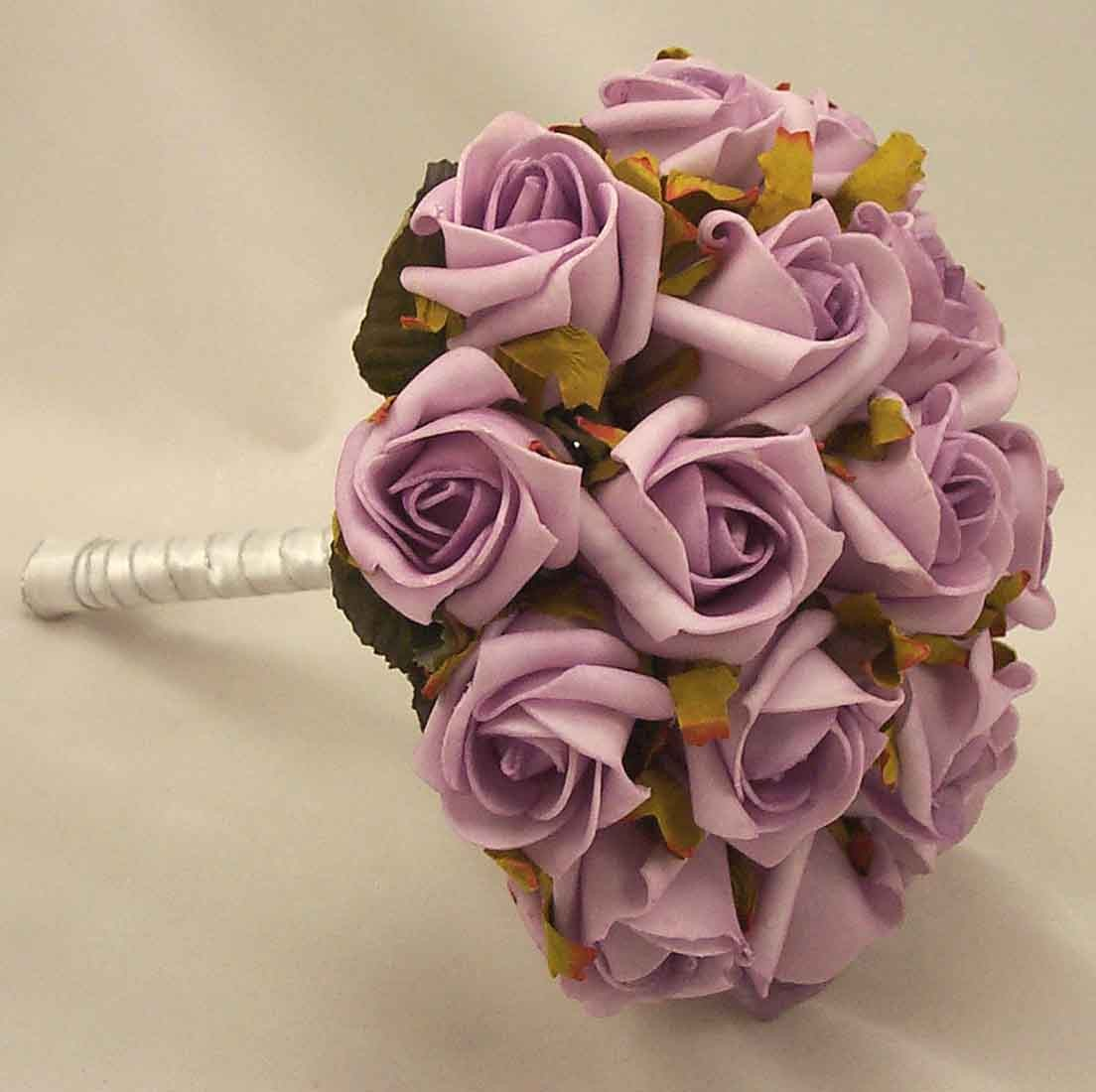 Lilac Jubilee Rose Bridesmaid's Bouquet