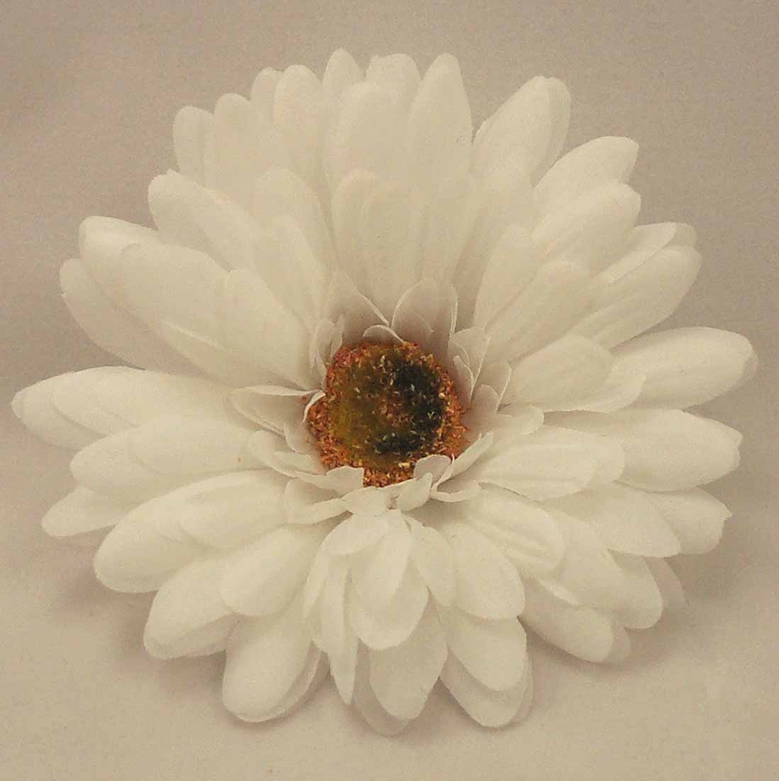 Flower Samples White Gerbera Daisy Sample Daisies Artificial Silk