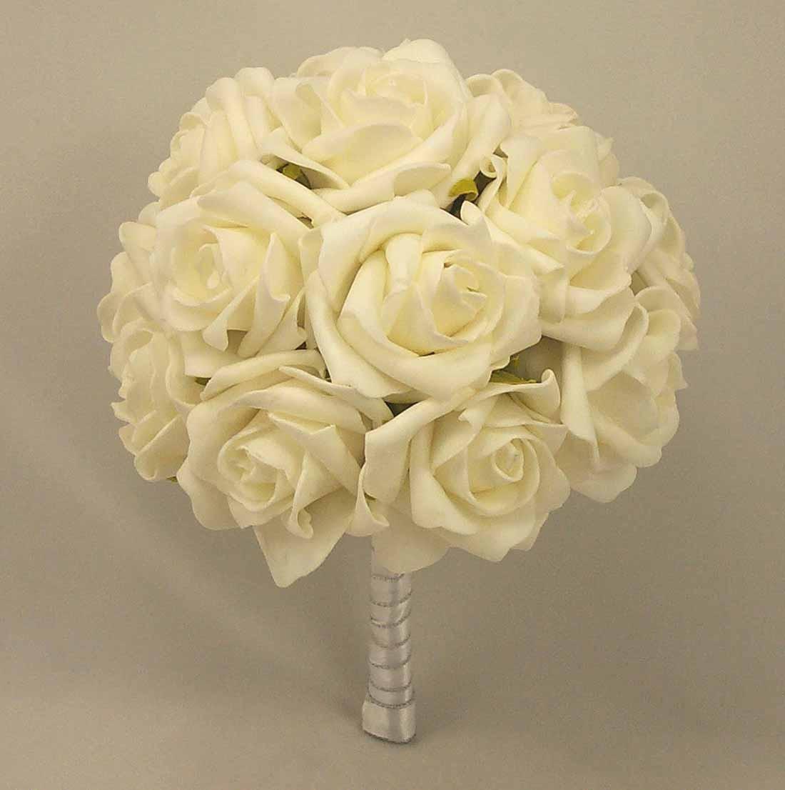 White Rose Medium Table Posy