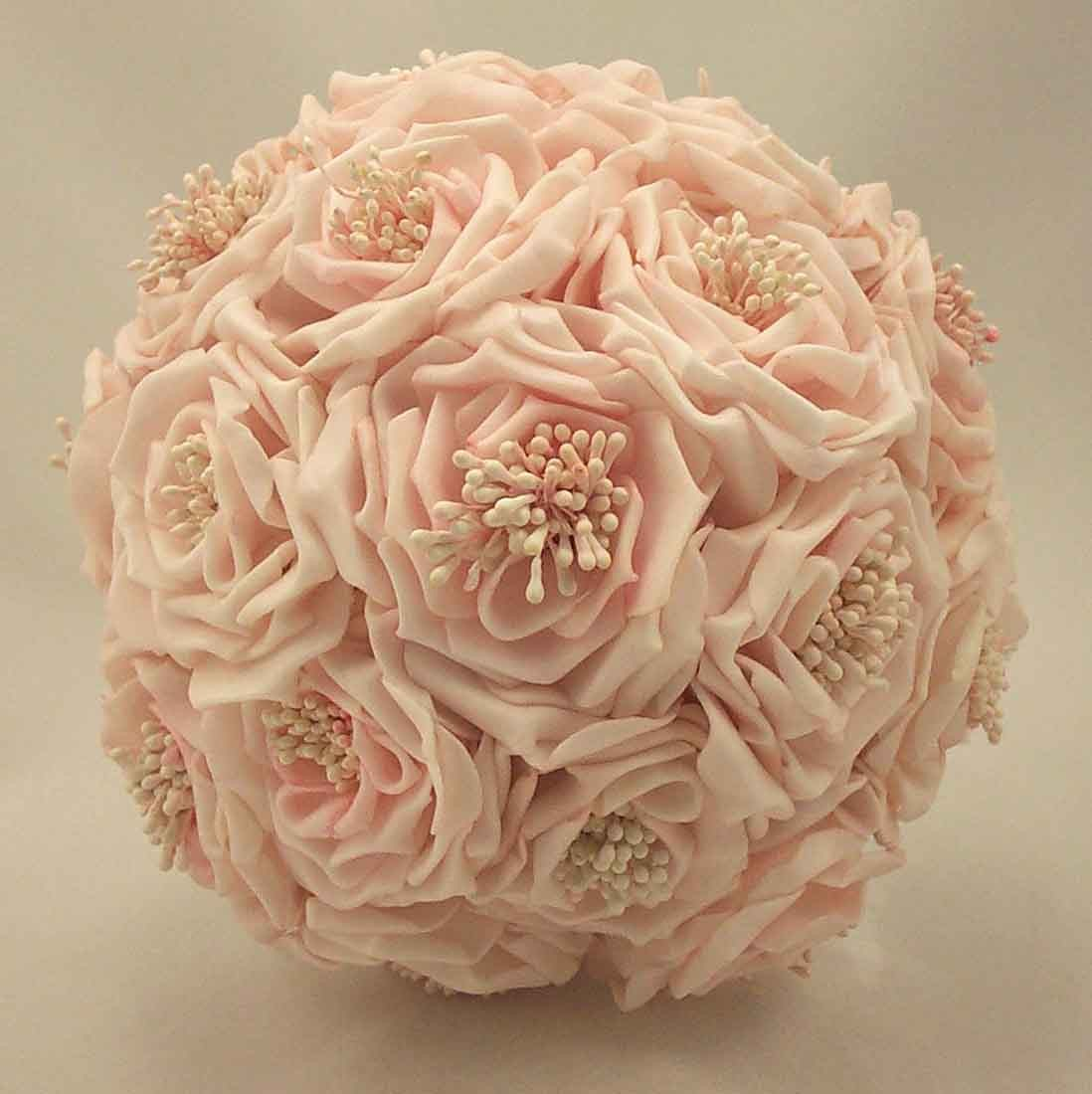 Bridesmaid's Bouquets - Light Pink Wild Rose Bridesmaid's ...