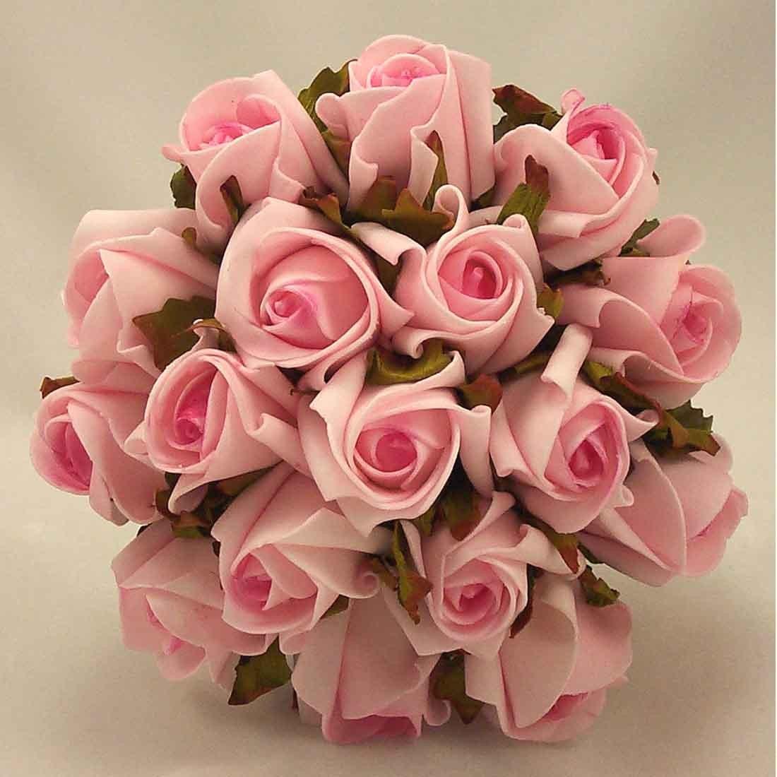 Raspberry Pink Jubilee Rose Bridesmaid's Posy