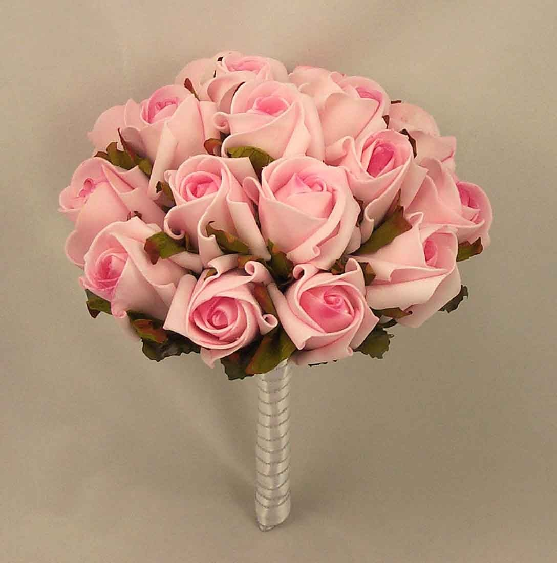 Raspberry Pink Jubilee Rose Table Posy