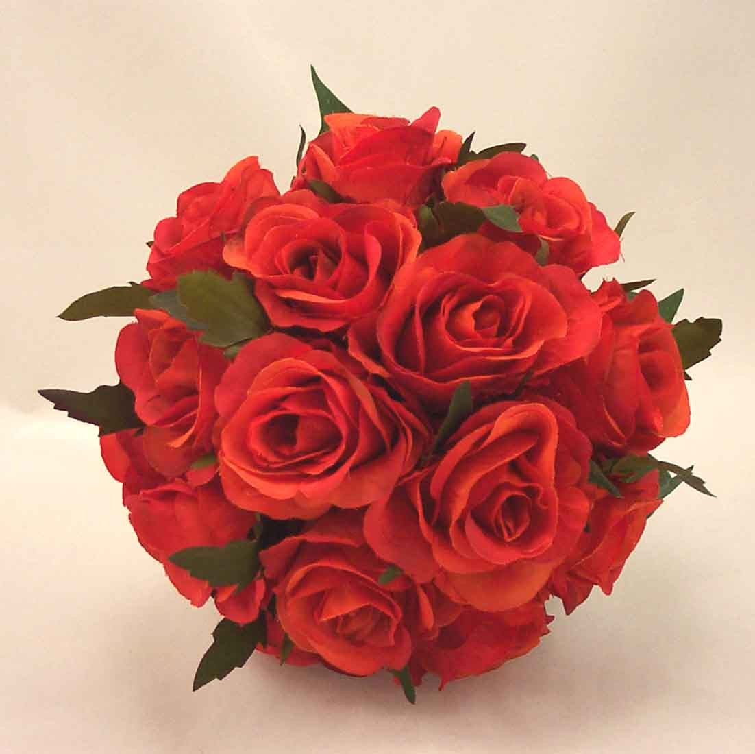 Orange Rose Posy Bouquet