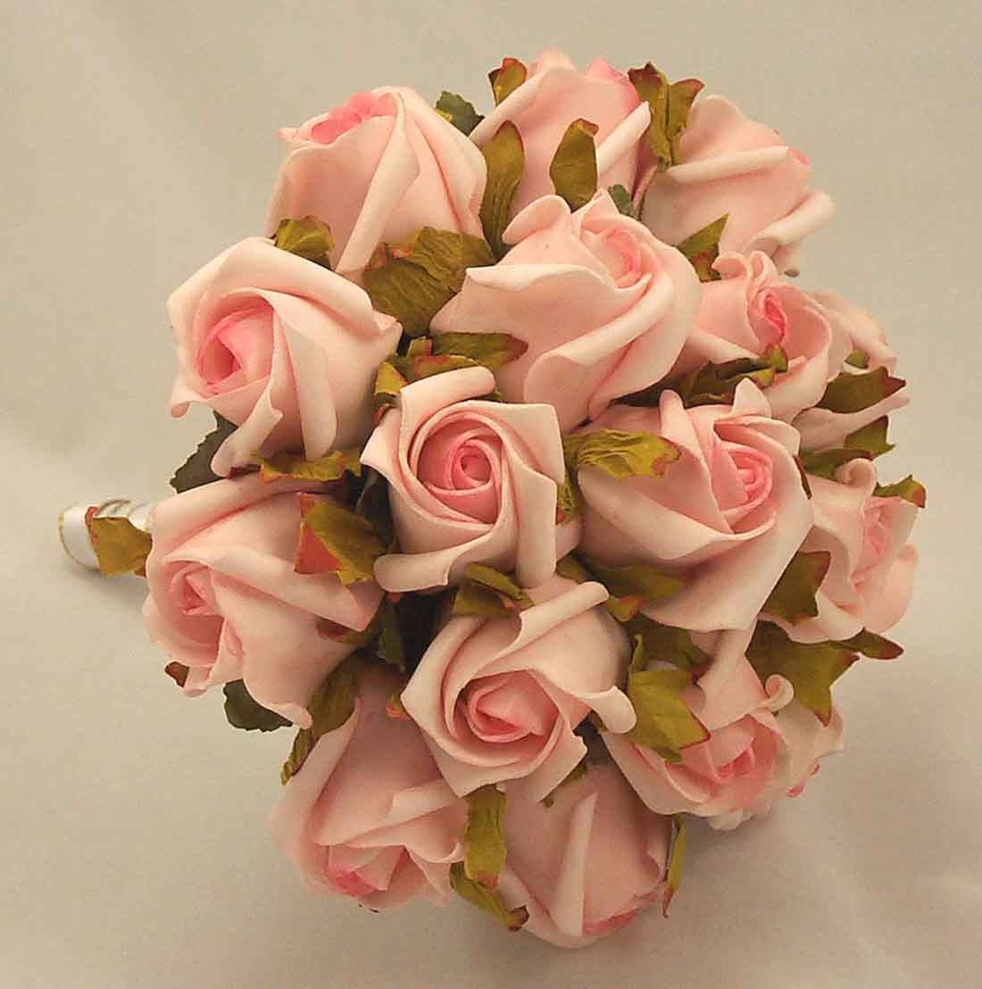 Pink Jubilee Rose Bridesmaid's Bouquet