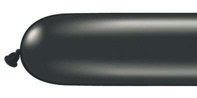 Qualatex 260Q Pearl Onyx Black Modelling Balloons