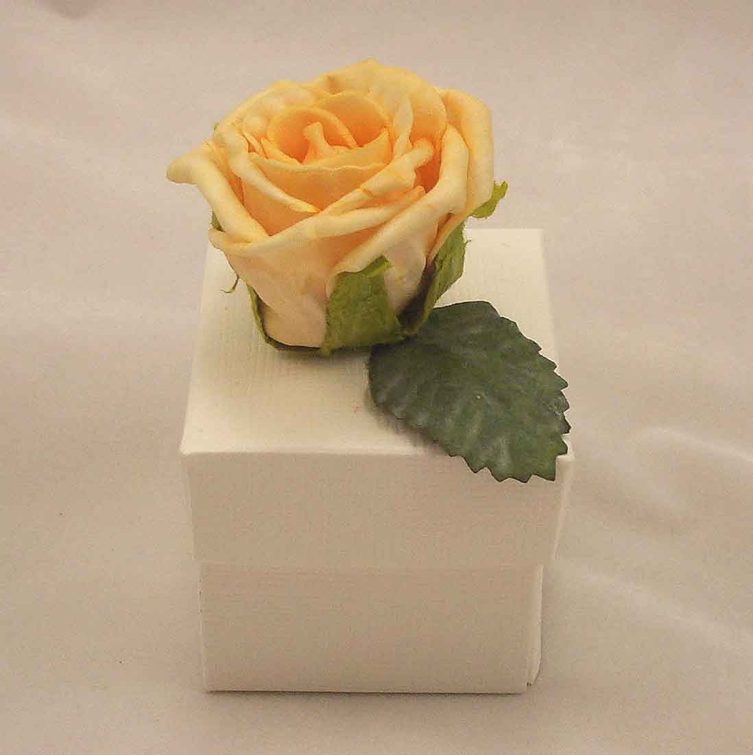 Gold Rose Favour Box