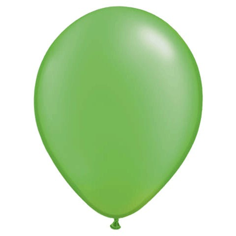 50 Pale Green Latex Balloons