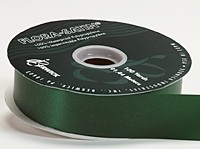 10m Length of Hunter Green Poly Ribbon