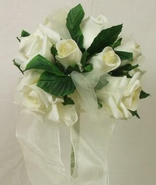 Cream Mixed Rose Children's Posy
