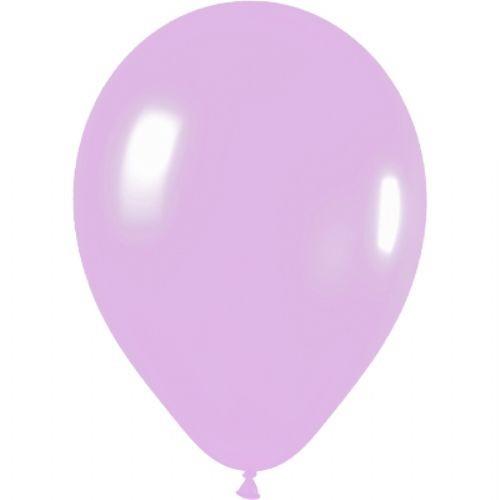 50 Lilac Latex Balloons