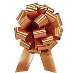 50mm Large Metallic Gold Pull Bows
