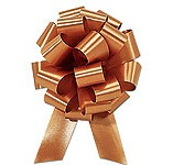 30mm Medium Metallic Gold Pull Bows