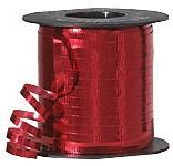 Metallic Red Curling Ribbon 500 Metres