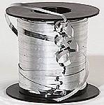 Metallic Silver Curling Ribbon 500 Metres
